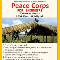 Peace Corps Flyer 8x11
